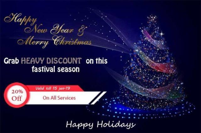 Grab Fleshy Discount On This Festive Season!